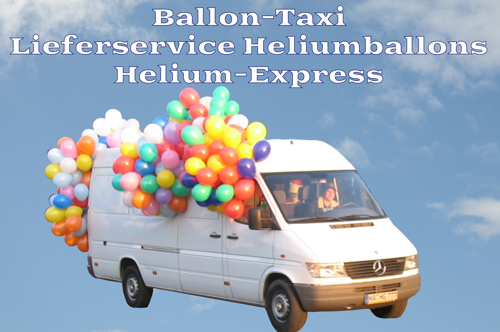 Ballon-Taxi-Lieferservice-Heliumballons-Helium-Express